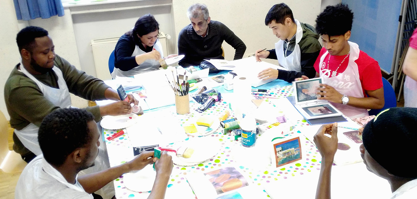 Kreativer Acryl-Workshop
